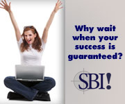 SBI! The best work at home solution.