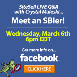 SiteSell Facebook Special Events