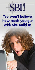 Making a website with Site Build It! Tools